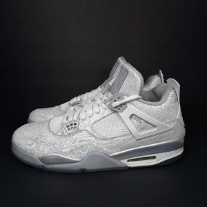 Nike Air Jordan IV 4 Retro Laser Chrome Sz 14